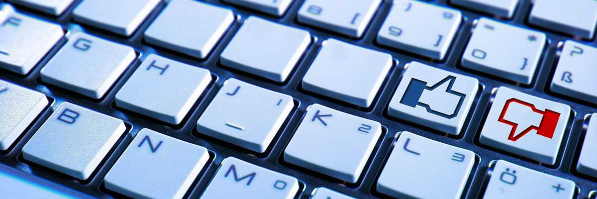 Facebook Like - Tastatur