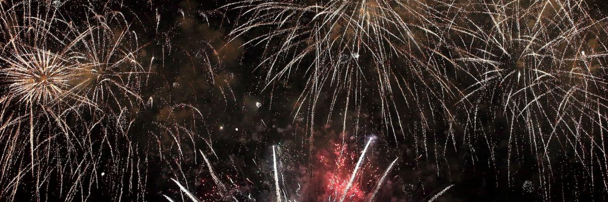 Feuerwerk - Weihnachten Sylvester - Loy Blog