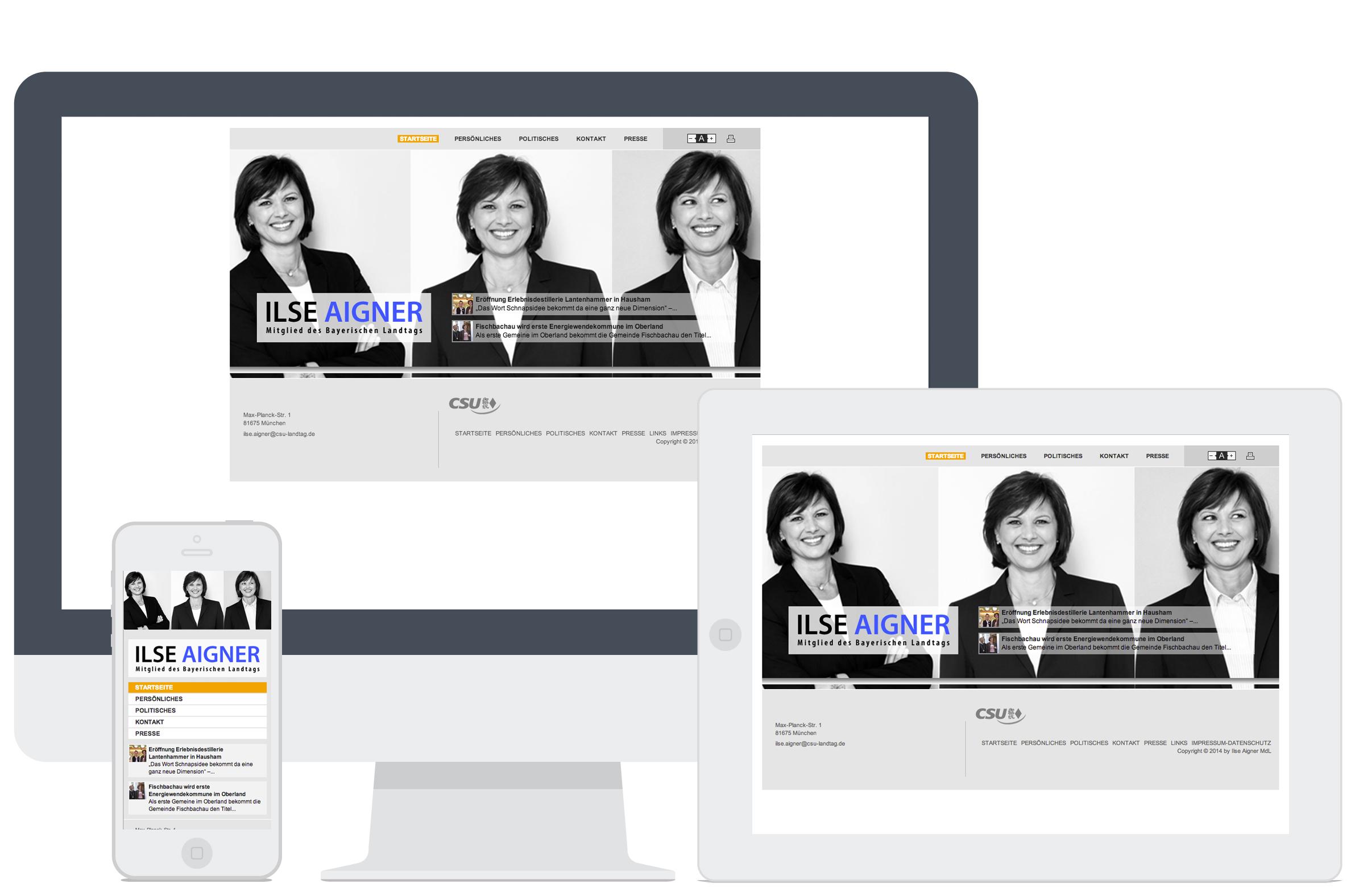 LOY Referenzen - Ilse Aigner - Mitglied des Bayrischen Landtags